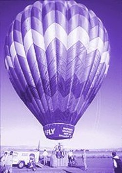 PAUL  TRAPANI - Worth the Price of Admission: A dawn balloon ride with Professor Muldoon.