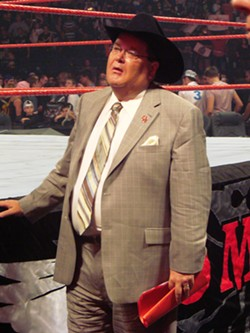 Jim Ross No Mercy 2007 - LICENSED UNDER CC BY 3.0 VIA WIKIMEDIA COMMONS