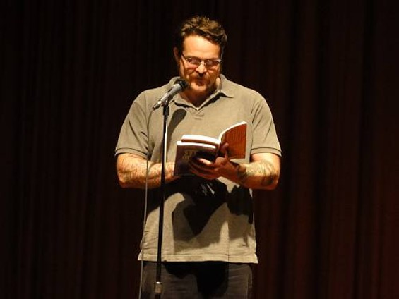 Writer, poet, comedian, and storyteller Bucky Sinister sees the lighter as well as heavier sides to addiction in his work and performance.