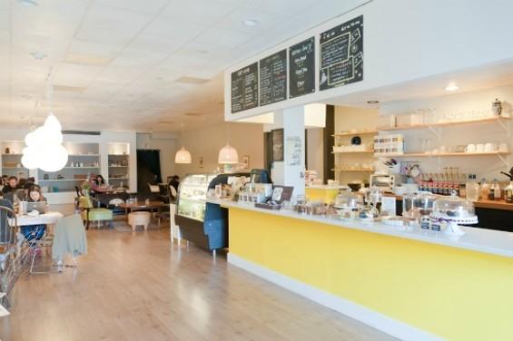 YakiniQ Cafe interior