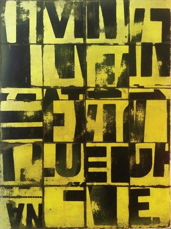 Yellow Grid No. 1 - JEFFREY THOMPSON
