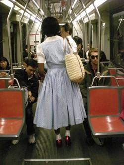 Yep, it's the Auntie M train... - JOE ESKENAZI