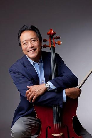 Yo-Yo Ma will speak at UC Berkeley tomorrow, Wednesday, Dec. 10.