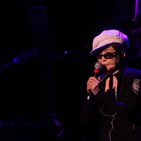 Yoko Ono Plastic Band at The Fox Theater
