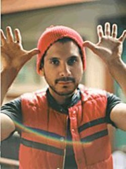 """Yoni Wolf: The beanie says """"hip hop,"""" the - vest says """"indie."""" We're confused."""