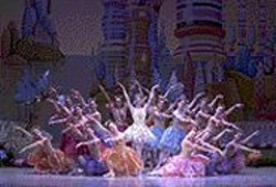 ANDY  MOGG - You Can't See the Stains: Though its tutus are - dissolving from years of heat and sweat, S.F. Ballet's - Nutcracker is still glorious.