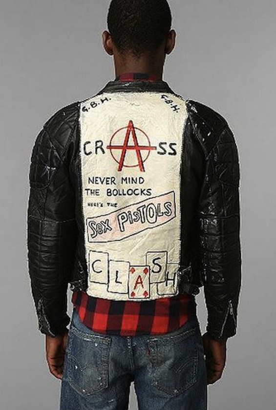 You could make this jacket with $5 and 10 minutes.