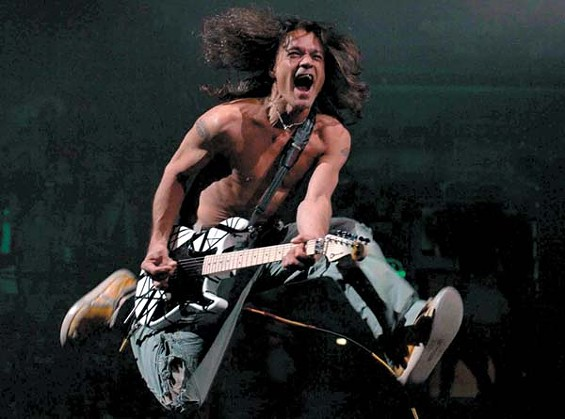 You have a few months before the local concerts to try and perfect Van Halen's jump.