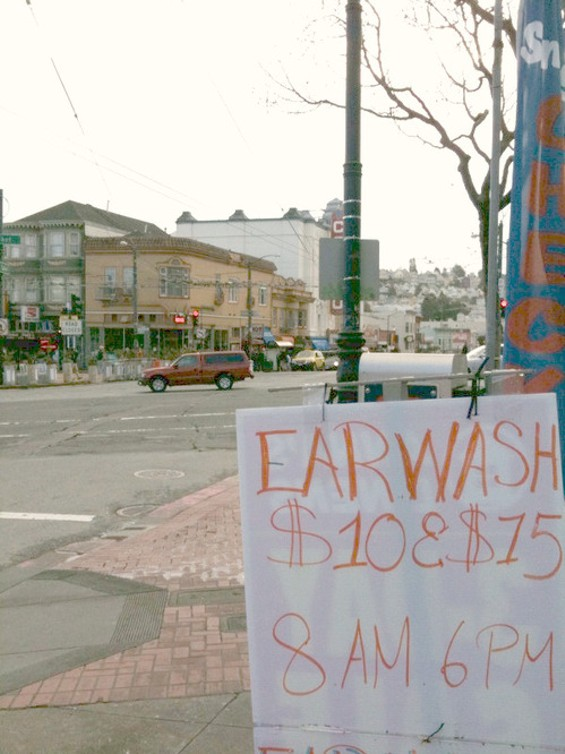 You know how many Q-tips I could get for that? - ANDY WRIGHT, SNAPPED AT MARKET AND CASTRO