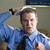 Seth Rogen's rent-a-cop rides the bipolar express in <i>Observe and Report</i>