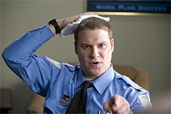 PETER SOREL - You think Observe and Report is going to be funny, but it's just sad.