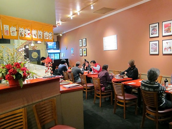 Yu-Raku is the Bay Area's second eatery specializing in Chuka Ryori, Japanese-style Chinese food. - LUIS CHONG
