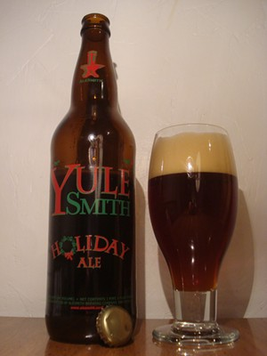 Yulesmith Holiday Ale from San Diego's AleSmith Brewing. - WWW.TWINBEER.COM