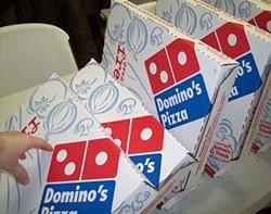 Yummy pizza, yucky politics