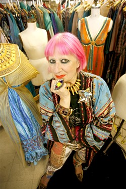 KELLY NICOLAISEN - Zandra Rhodes and her costumes.