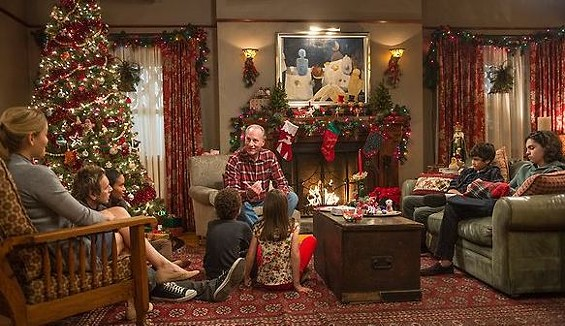 Zeek tries to convince the kids that Santa exists. - PHOTO COURTESY OF NBC.COM