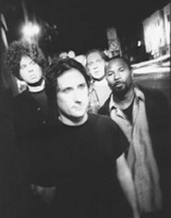 PETER  ELLENBY - Zen Guerrilla (Marcus Durant far left) conjures a perfect blend of Motor - City aggression, Seattle sludge, and Hendrix-y blues.