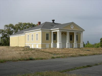 The Empty Yellow Houses of Fort Lawton