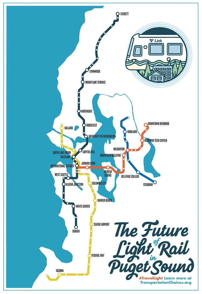 You will be voting on light rail in the fall. And you will vote yes.