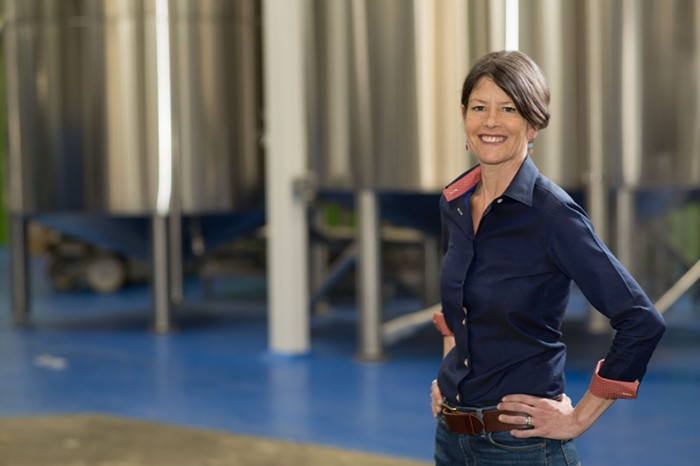 Sara Nelson owns Fremont Brewing Company and is now running for Seattle City Council.