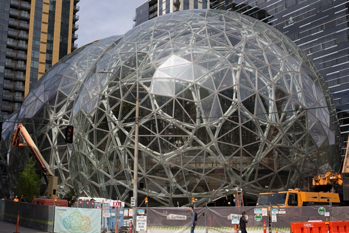 Coming soon to your city: Amazon biodomes.