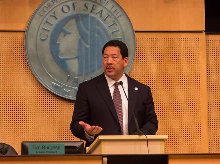 Seattles temporary mayor: Bruce Harrell.