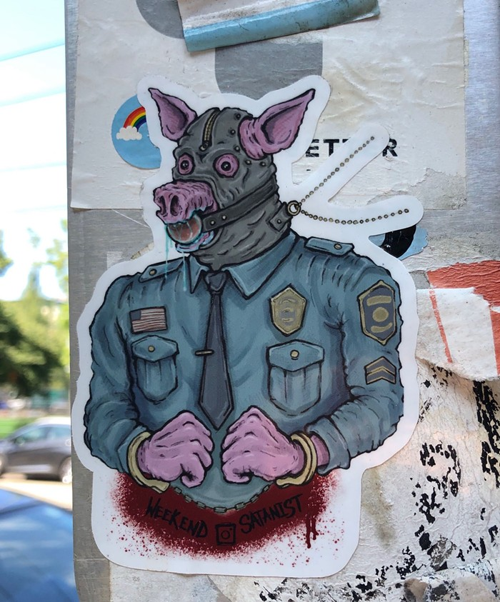 All Cops Are Gimps