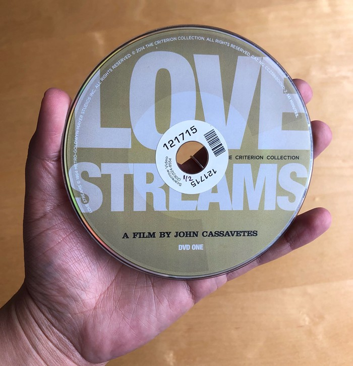 Love? Its a continuous stream.