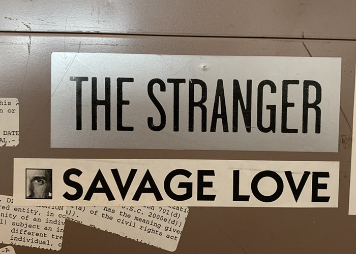 I want that Savage Love sticker.