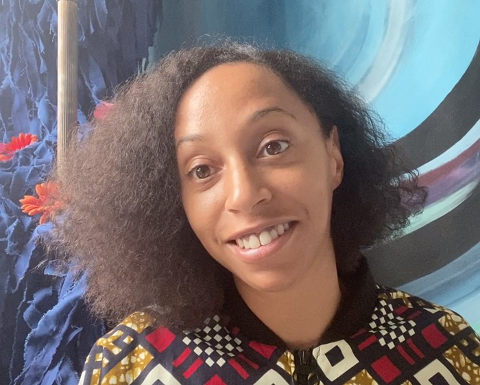 Natasha Marin is a conceptual artist and the curator of Black Imagination: Black Voices on Black Futures, published by McSweeneys.