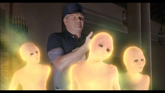 These aliens would like you to stop stealing their eggs, grandpa.