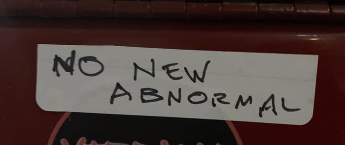 I love a handwritten sticker.