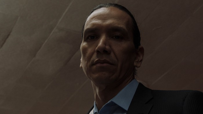 An outstanding turn by Michael Greyeyes.