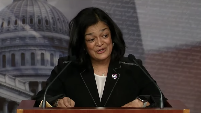 Its not just a few billionaires getting wealthier, said Rep. Pramila Jayapal during a presser unveiling the Ultra-Millionaire Tax Act today, there have been 46 new billionaires created during this pandemic.