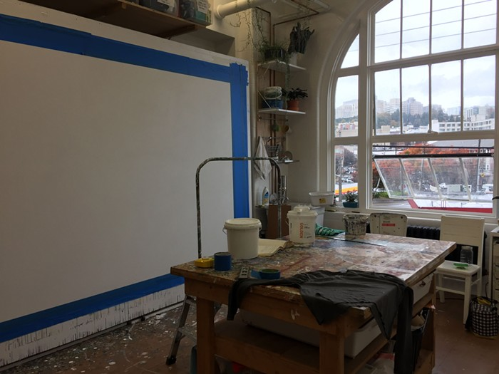 Another studio space in the building.