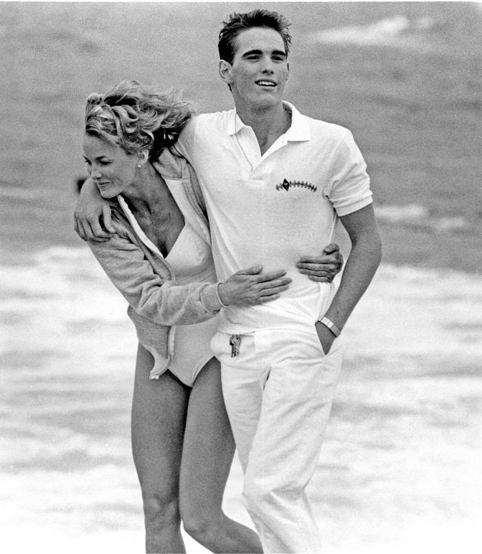 Janet Jones and Matt Dillon in The Flamingo Kid, which is argued to be the first film to receive a PG-13 rating.