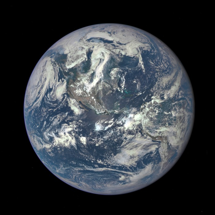 Happy Earth Day. Heres a portrait of you from a million miles away.