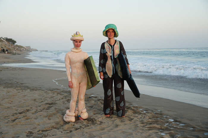 Johnson and Thomander are wearing my dream surfing outfits.