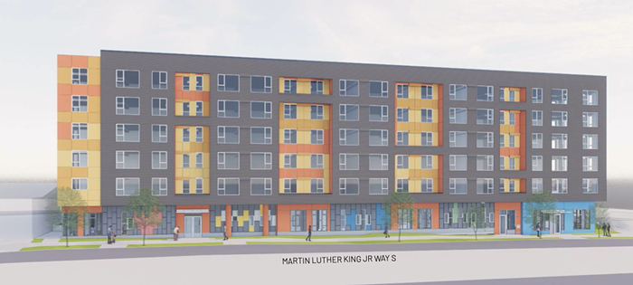 The MLK Mixed-Use Affordable Housing project, which received some of the federal funds, would feature 145 units of low-income housing as well as an early learning center.