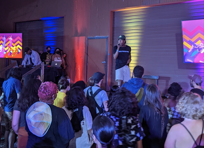 Rell Be Free amps up the crowd