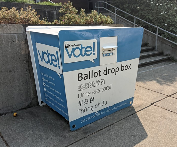 As of today at noon, voter turnout in the Seattle elections stood at 41.6%. The turnout countywide was 34.3%.