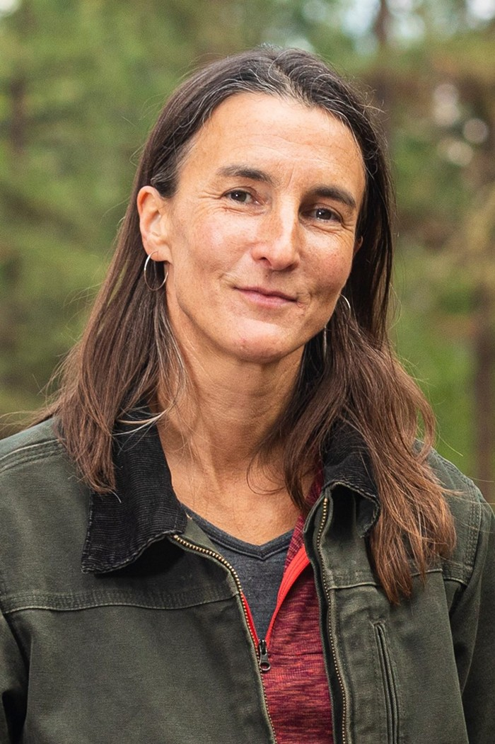 Susan Prichard, the co-lead author of a new UW report on the state of the science on western wildfires, forests and climate change.