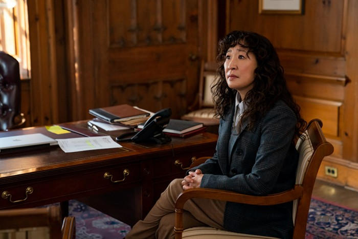 As in all things, Sandra Oh is so good in this.
