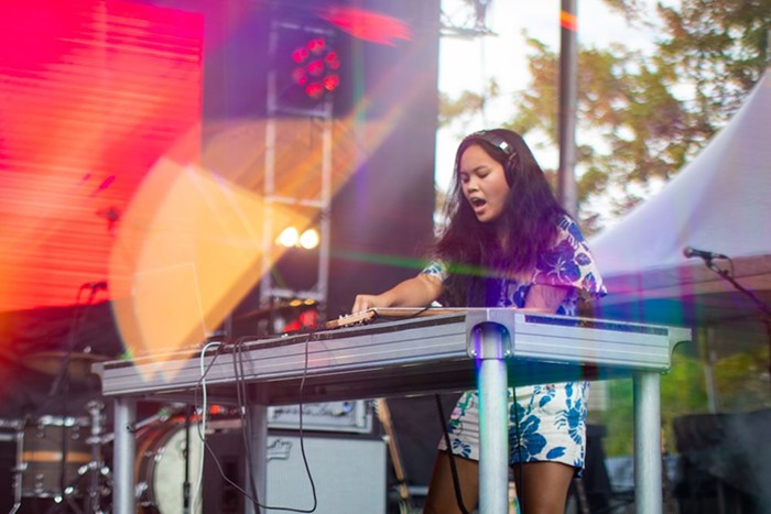 Chong, who recently scored a production credit on the soundtrack to the new Marvel superhero flick Shang-Chi and the Legend of the Ten Rings, the Big Festival Energy to her mid-afternoon Sunday set.