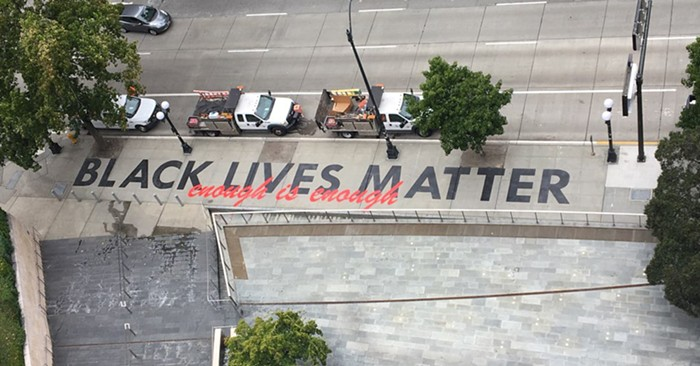 This is outside Seattle City Hall.