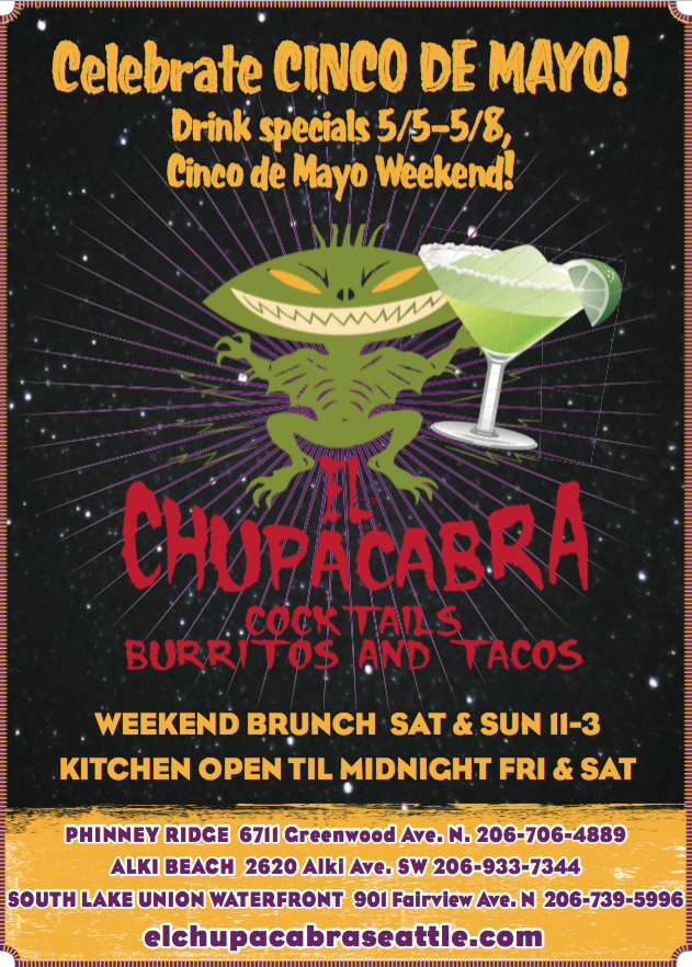 Cinco de Mayo at El Chupacabra at El Chupacabra in Seattle, WA on May ...