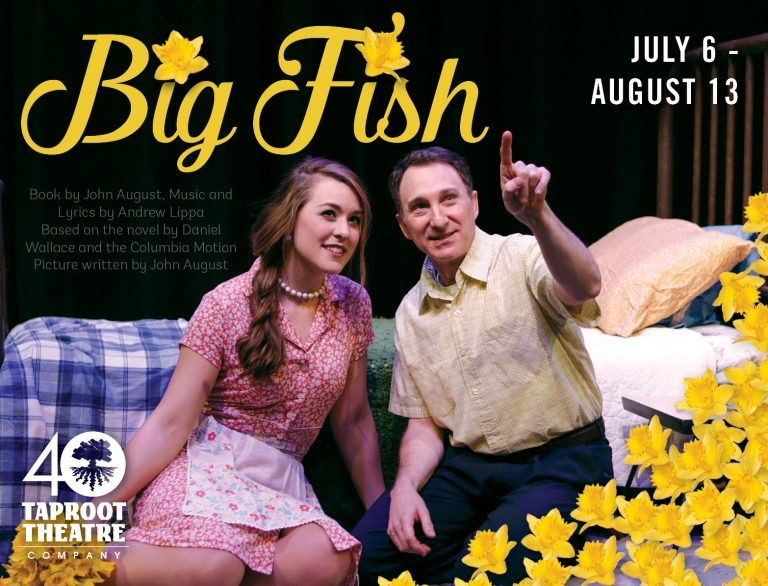 Big fish at taproot theatre in seattle wa on starts july for Big fish seattle