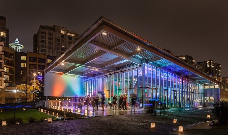 Art Calendar Seattle : Sam lights at olympic sculpture park in seattle wa on thu