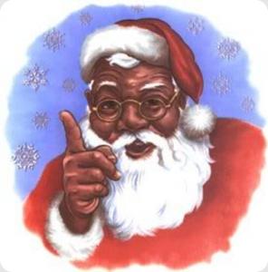 Black Santa at Northwest African American Museum in ...