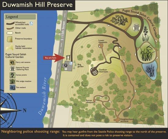 Duwamish Alive at Duwamish Hill Preserve in Tukwila WA on Sat